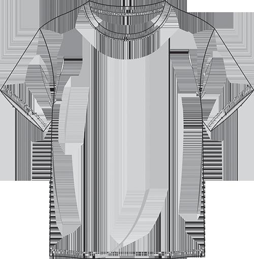 Scribble Drawing T Shirt : Dare to wear basic t shirt